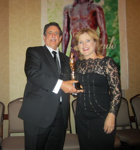 Fernando Award 2013 - Joel Simon & Nancy Cartwright