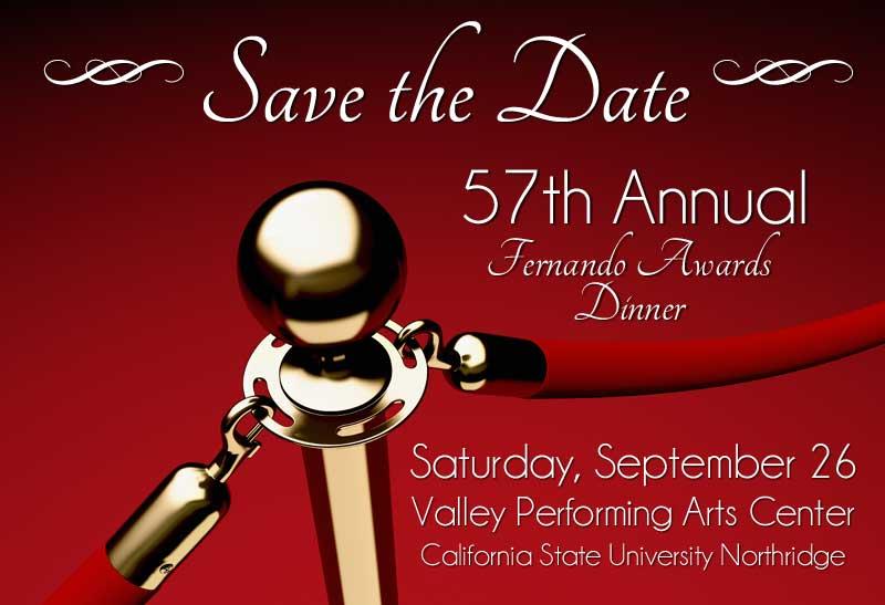 57th Annual Fernando Awards Dinner, September 26, 2015